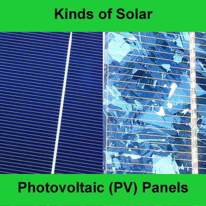 ... panels these descriptions all relate to the type of solar panels that