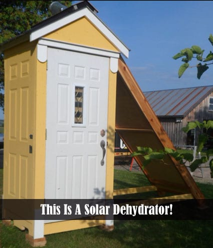 Build A Solar Food Dehydrator | DIY Alternative Energy