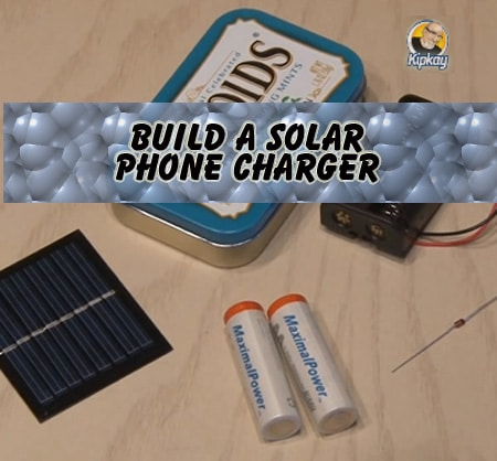 Charge any phone with the sun build a solar charger for How to make a simple solar panel for kids
