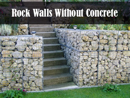 Build Rock Walls With NO Concrete DIY Alternative Energy