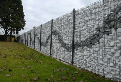 Build rock walls with no concrete diy alternative energy gabion wall as art solutioingenieria Gallery