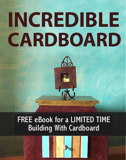 Free kindle ebook building stuff with cardboard limited time free ebook incredible cardboard fandeluxe Gallery
