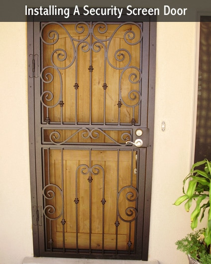 metal security screen door 2