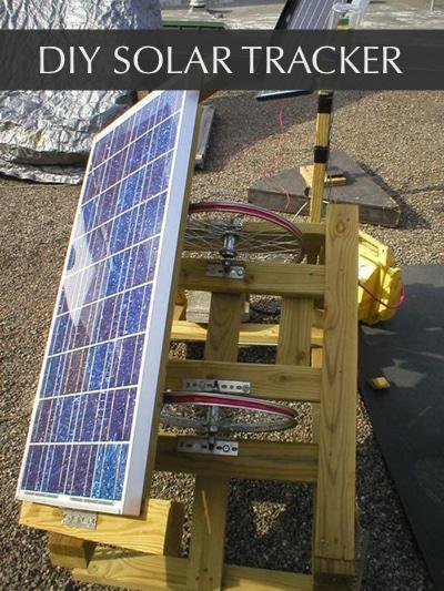 Solar Tracker Diy Using Available Materials Diy