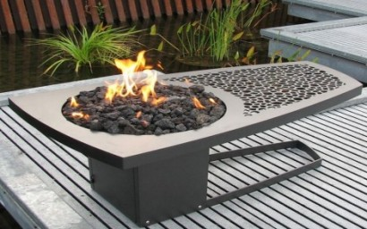 fire pit stylish