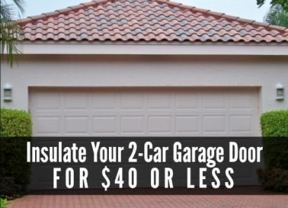 Insulate your garage door for 40 or less diy alternative energy garage door insulation sugarland garagedoor dot com solutioingenieria