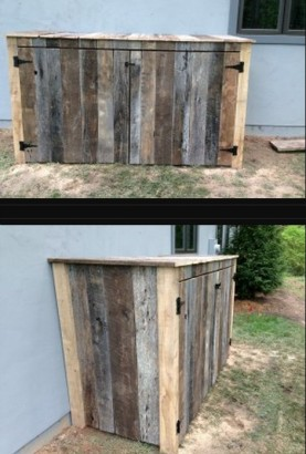 15 Best Looking Ways To Hide Trash Cans Diy Alternative