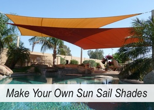 how to make a shade sail