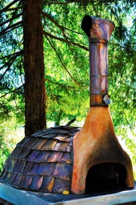 pizza oven copper top tomatotango